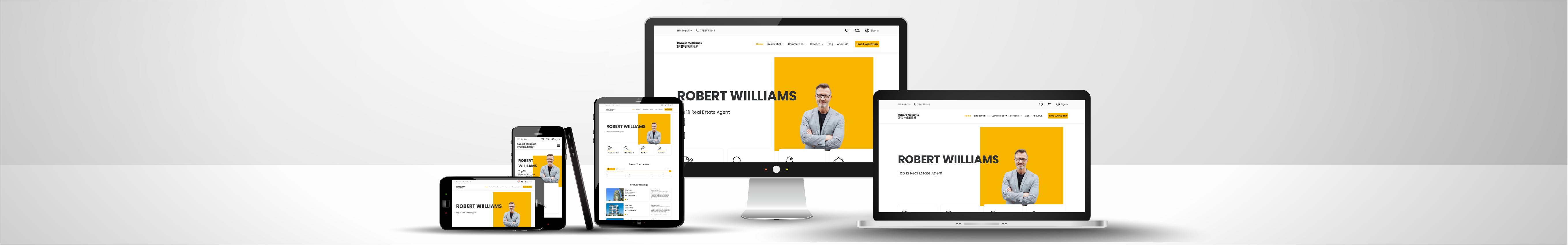 Web Design & Development Solutions for REALTORS®/Real Estate Agents